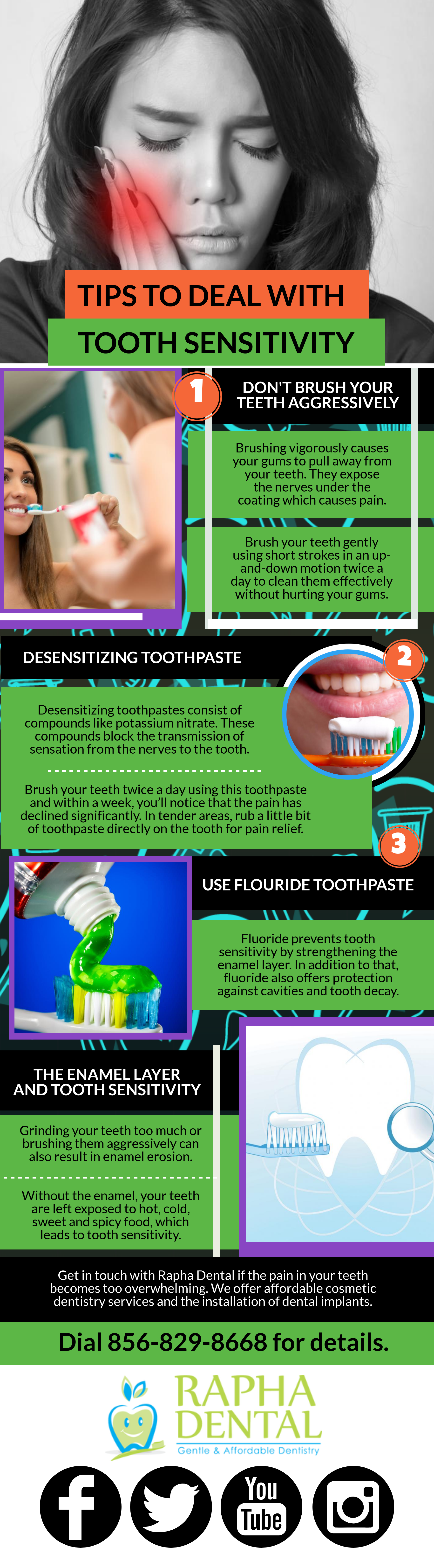 Tips To Deal With Tooth Sensitivity